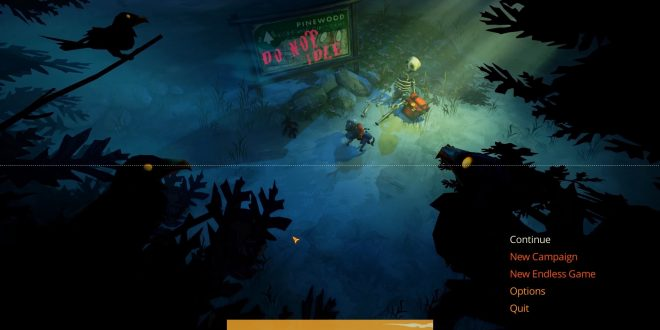 Flame in the flood guide
