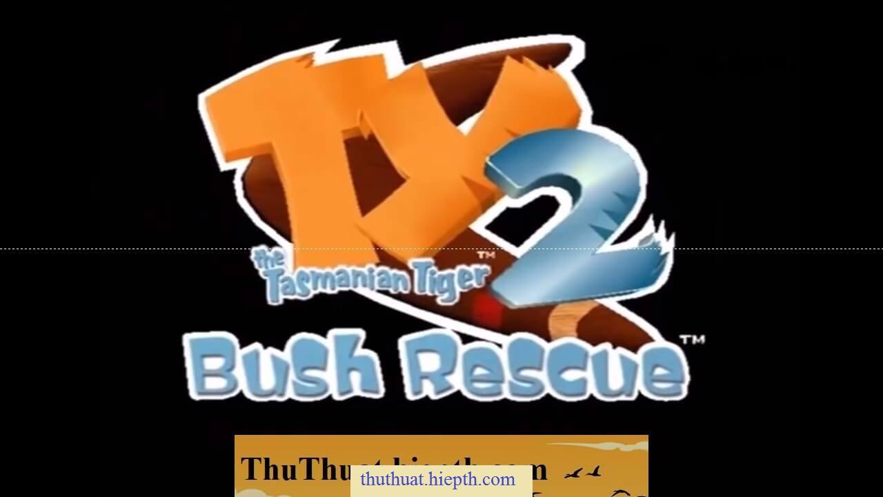 Game Ty The Tasmanian Tiger 2 Bush Rescue