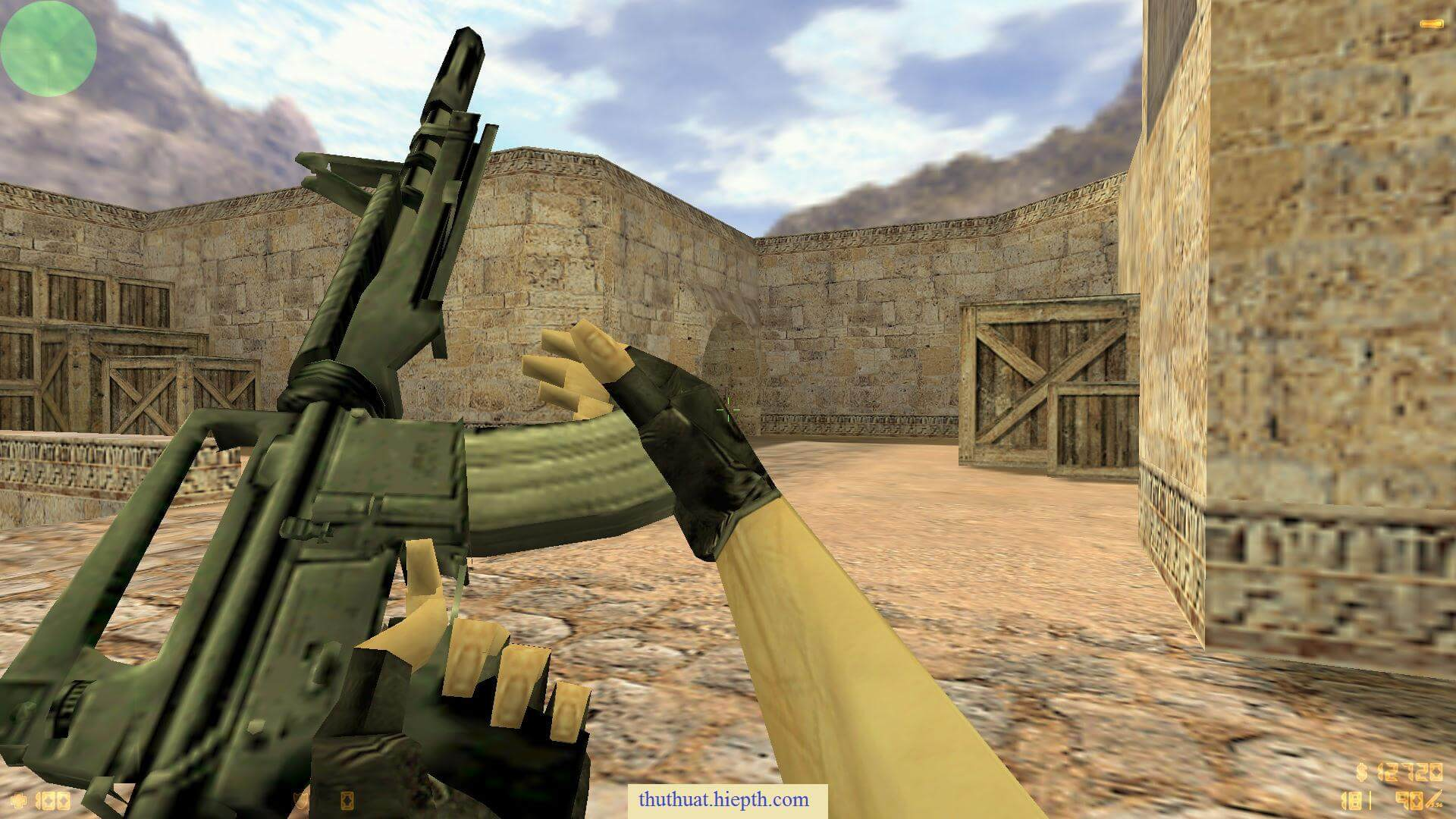 M4 from Half-Life HD pack [Counter-Strike 1.6] [Skin Mods]