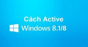 Hướng Dẫn Active Win 8/8.1 Bản Quyền Bằng CMD Đơn Giản Nhất