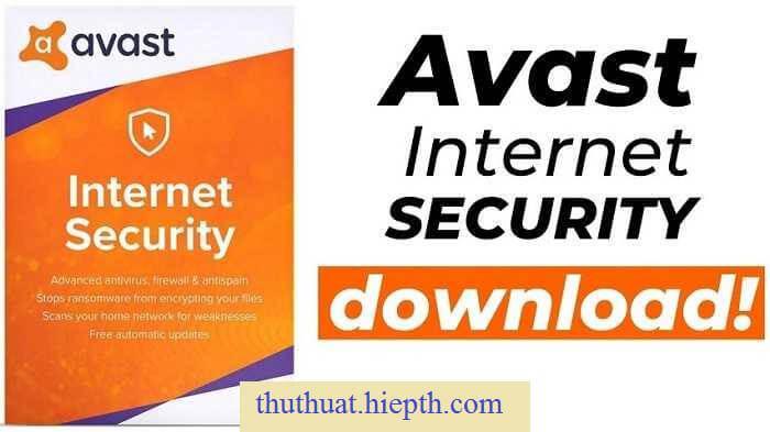 Avast Internet Security Full Crack + Key bản quyền 2050