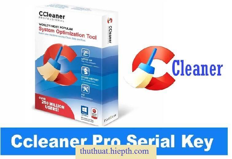 Phần Mềm Dọn Dẹp Máy Tính CCleaner Pro Full Key » Kiến Thức IT
