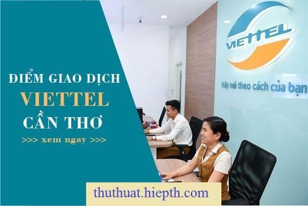 Điểm giao dịch Viettel Cần Thơ