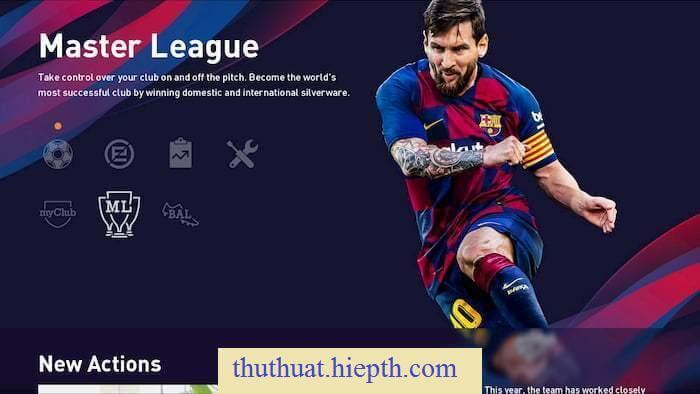Hướng dẫn tải eFootball PES 2020 miễn phí cho PC