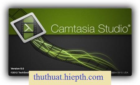 Ưng dụng quay màn hình máy tính Camtasia Studio 8 Full Crack