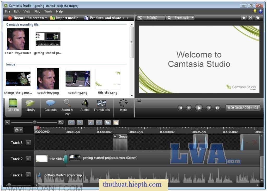 phần mềm Camtasia 8.6 bản 32bit hay 64bit