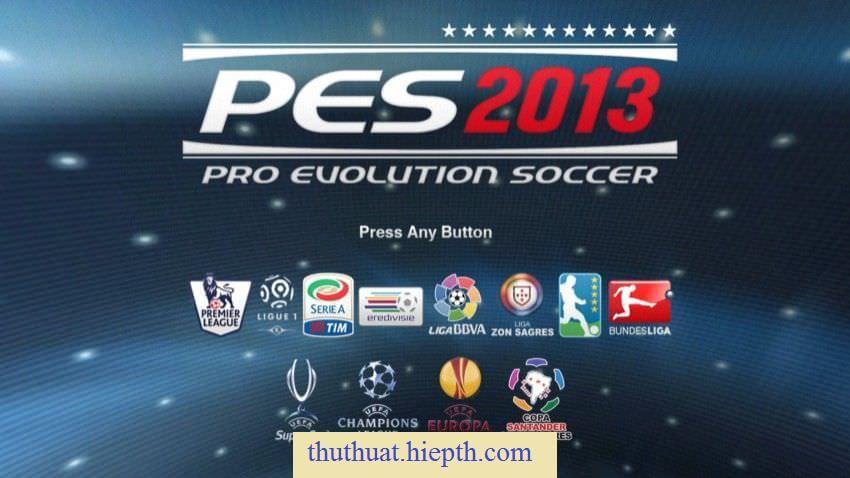 Tải game PES 2013 miễn phí - Link Never Die