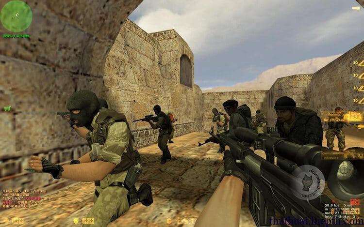 Kết quả hình ảnh cho Tải game Half Life 1.6