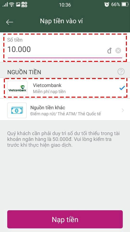 Kiếm tiền Internet Banking với MOMO