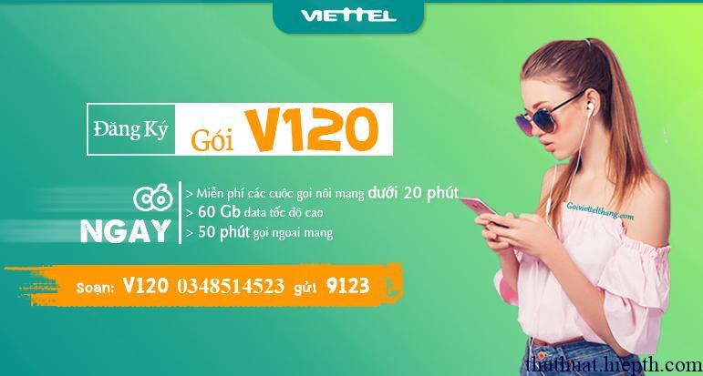 Goi v120 Viettel 0348514523