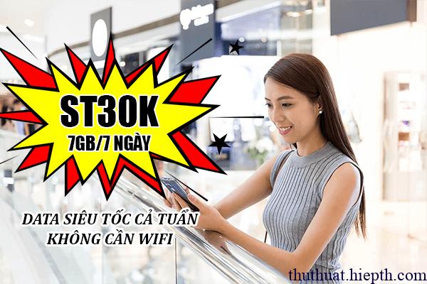 Gói st30k của viettel là gì?
