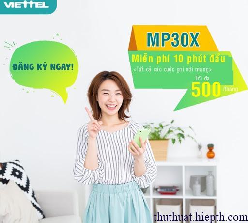 MP30X VIETTEL LÀ GÌ?